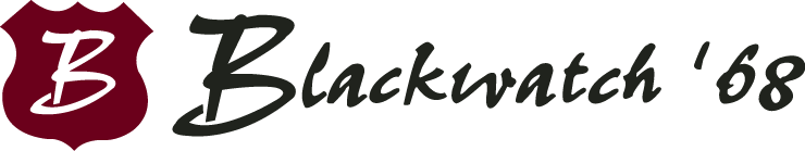 Blackwatch '68 Logo