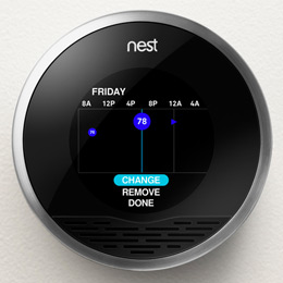 East Terrace Apartments: Nest Thermostats
