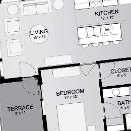 East terrace apartments milwaukee sustainable modern living blackwatch 68 - Terras appartement lay outs ...