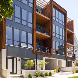 East Terrace Apartments: Sustainable Modern Design
